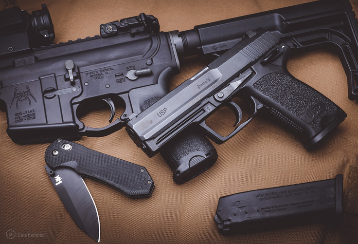 benchmade - Heckler & Koch USP & Axis 14175 with 'Backup' (fade)