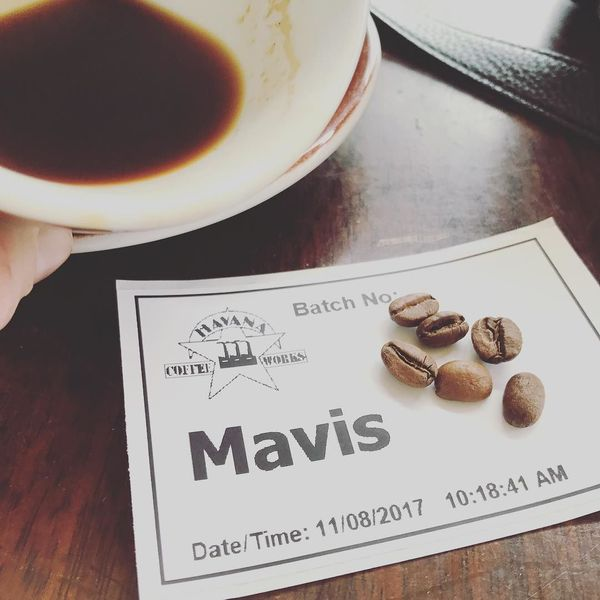 COFFEEUFEEL - Were you really there if you didn't get the sticker??? #havanacoffeeworks #havanacoffee #cuban #wellington #nz #coffeetourist #mavis #mavisandco