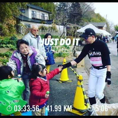 Thanks for everything Ichiro at Tohoku food marathon! #run #running #nike #nikerun #nikeplus #nikerunning #NRC #JustDoIt #Garmin #ナイキ #ナイキプラス #ラン #ランニング...